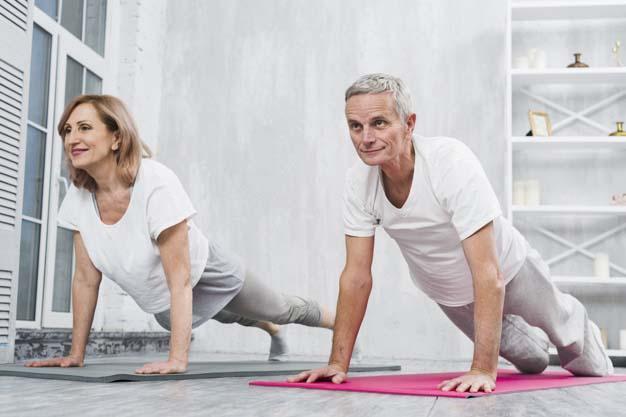 Huzurevinde Spor ve Egzersiz